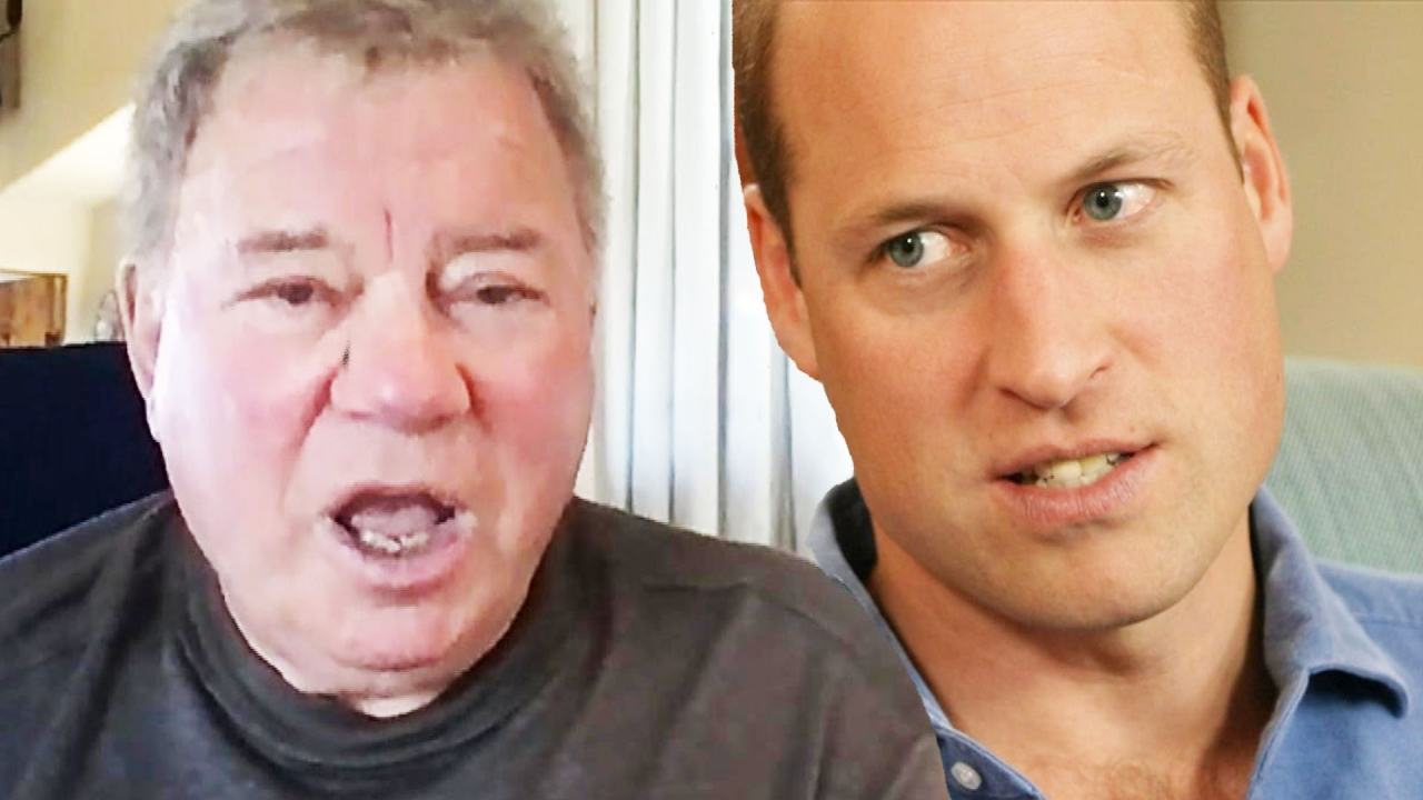 William Shatner Reacts to Prince William's Disapproval of Space Race ...